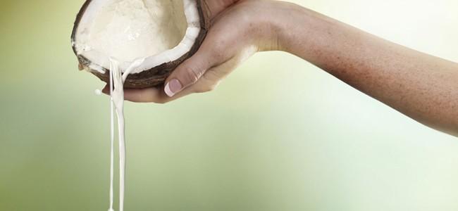 benefici con olio di cocco