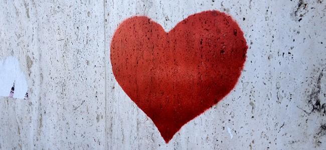 calzino che fa battere il cuore