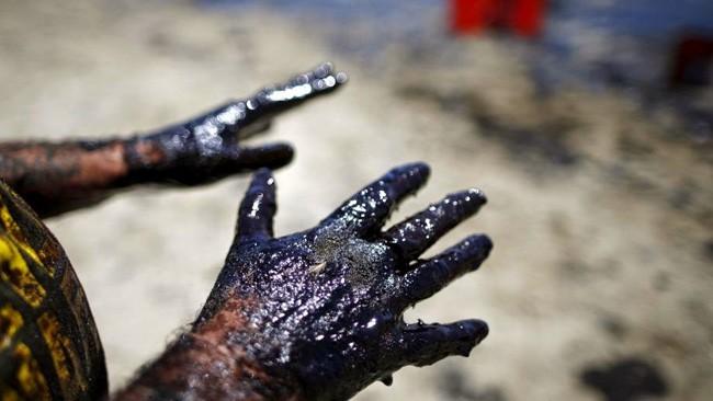 spugna per perdite di petrolio